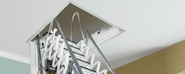 einziehbare Scherentreppe - Bodentreppe